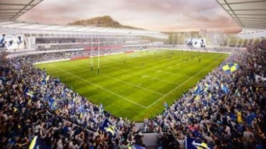 The proposed new Townsville Stadium would seat 25,000 people with room for future expansion.