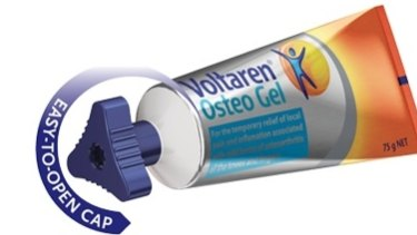 GSK argues that the cap on Voltaren Osteo Gel can be opened more easily than the one on Emulgel.