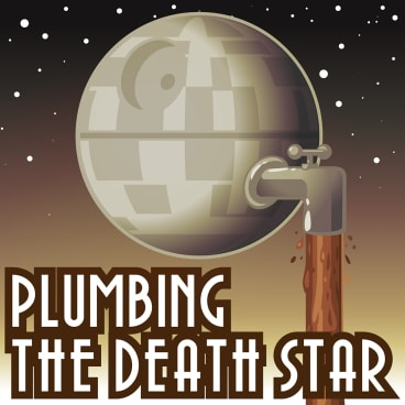 <i>Plumbing the Death Star</i> has reached the top 10 on the iTunes Australian podcasting charts.