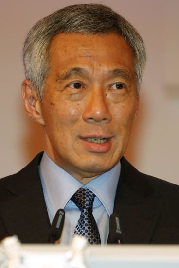 Singapore's Prime Minister Lee Hsien Loong.