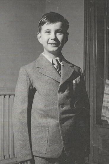 Mr Bayliff as a boy.