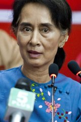 Aung San Suu Kyi will not run in  Myanmar's presidential elections later this year.