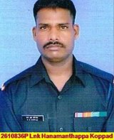 Naik Hanumanthappa was found alive after an avalanche buried him for six days.