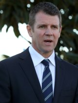 Challenged to support Mr Cornwell's expulsion: NSW Premier Mike Baird.
