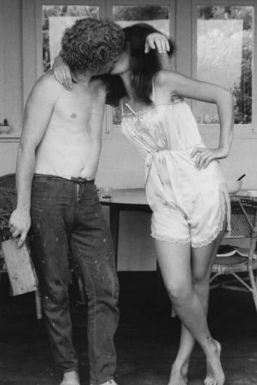 Archival photographs record the relationship between Brett and Wendy Whiteley in a new documentary about his life and work.