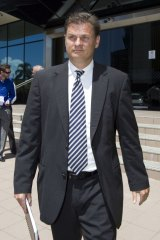Jailed: former Kleenmaid director Brad Wendell Young.
