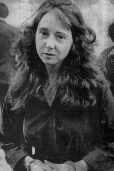 Charles Manson follower Lynette 'Squeaky' Fromme, pictured in 1975.