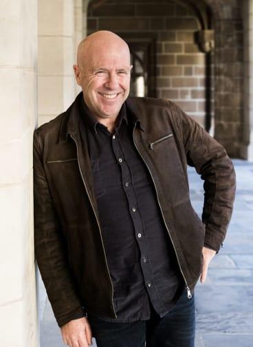 Author Richard Flanagan.