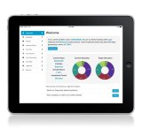 Ignition Wealth's iPad app allows investors to check their portfolios from the comfort of their couchs.