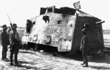 Mephisto, captured by allied troops in 1918.