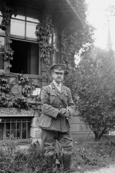 Major General John Monash in 1918.