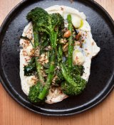 Charred broccolini at Project 49.