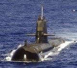 A RAN Collins Class submarine.