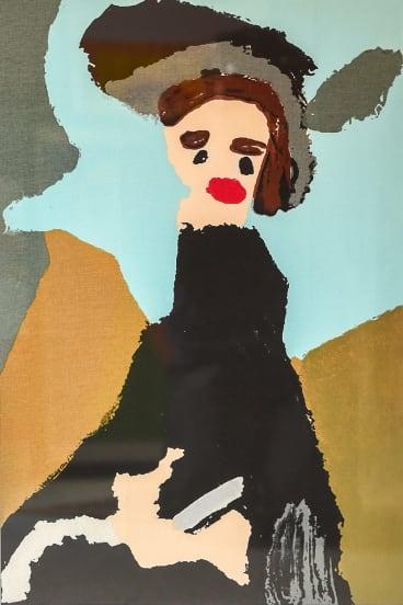<i>Eliza Doolittle</i>, after <i>My Fair Lady</i>, by Patrick Francis.
