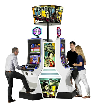 GameCo's Danger Arena was the first skill game approved for a US casino floor.