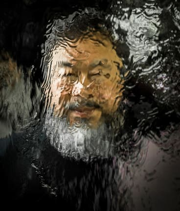 """Ai Wei Wei says """"Their home should be humanity""""."""