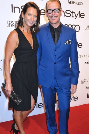 Layne Beachley and husband, Kirk Pengilly, but life at times for the surf champ was tougher than it appeared to the outside world.