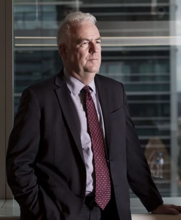 Transfield CEO Graeme Hunt wants to take investors to detention centres