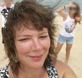 Karen Chetcuti in a photo with her children taken about a week before her murder.