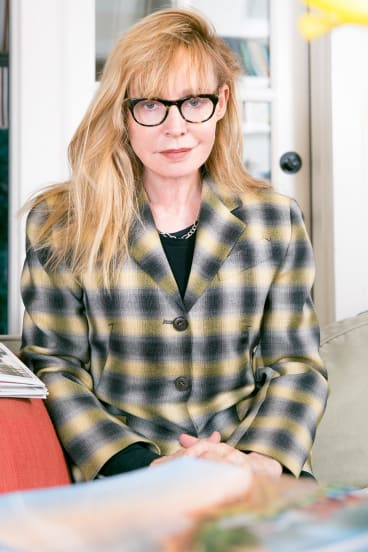 Lyndall Hobbs at her Los Angeles house last month.