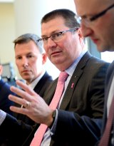 Department of Health secretary Martin Bowles has been involved in the meetings.