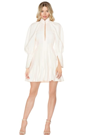 Why buy when you rent? This Ellery mini dress is perfect for the rock 'n' roll bride.