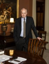 Former prime minister Paul Keating in his office in Potts Point.