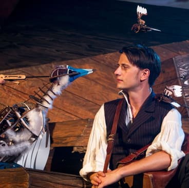 Tom Conroy is an engaging Darwin in The Wider Earth.