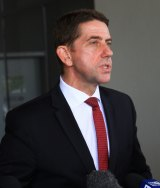 Health Minister Cameron Dick.