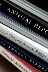Every annual report should be read with a mission in mind.