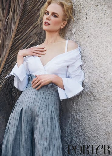 Nicole Kidman has penned an open letter in Net-A-Porter's magazine.