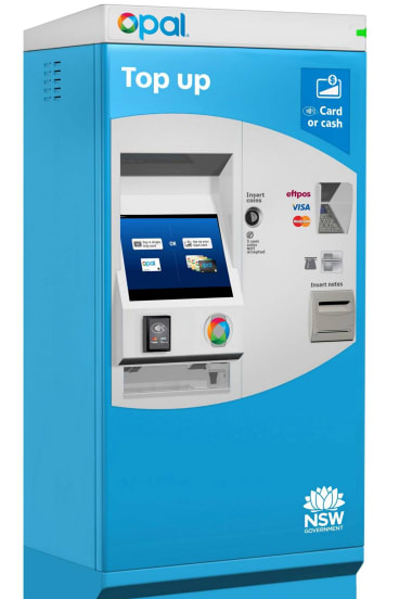 The new top-up machine