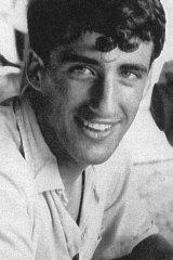 Carrillo Gantner as a young man.