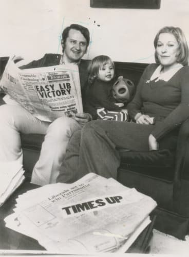A young Phillip Ruddock with his family.