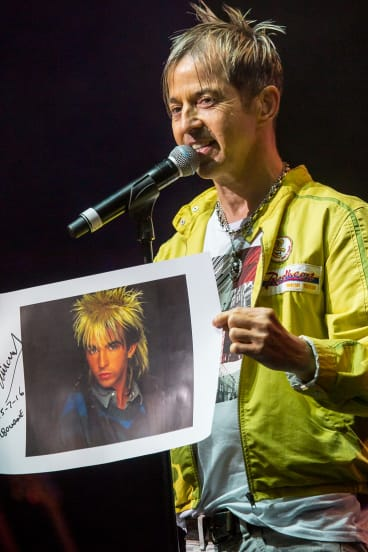 Limahl remembers the good old days.
