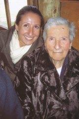 Gabrielle Costa, left,  and her grandmother Maria Stella Costa in 2009.