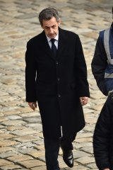 Former French president Nicolas Sarkozy and his Republican party face smaller than expected gains in the elections.