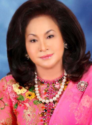 Rosmah Mansor has not spoken publicly about corruption allegations.