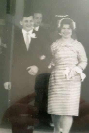 The couple found it difficult to sleep apart after more than 50 years of marriage. They hadn't been told there was another option.