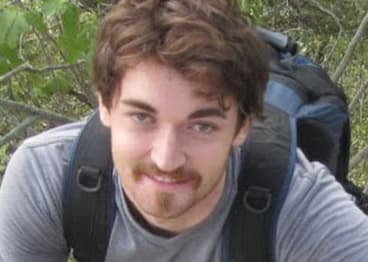 In custody: An unverified photograph of Ross Ulbricht, the alleged founder of Silk Road, the world's biggest drug-dealing website.