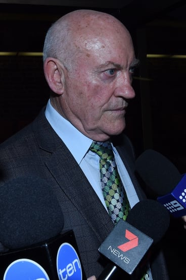 Ian Macdonald leaves a Sydney court in March.