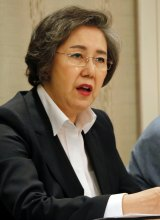 Yanghee Lee, UN Human Rights Special Rapporteur to Myanmar.