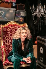 Danielle Cormack plays the central character, Alceste, the title's misanthrope.