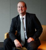 ANZ chief economist Warren Hogan