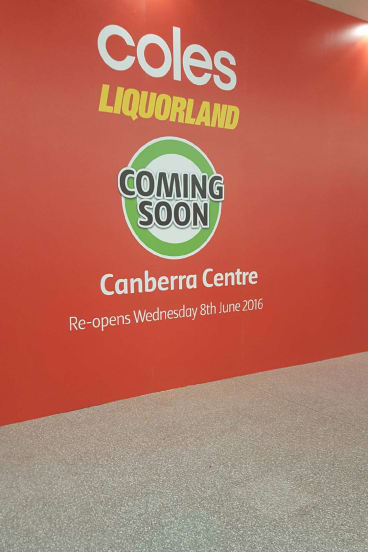 Now Closed Suparbarn In The Canberra Centre Will Be Replaced By A Coles On June