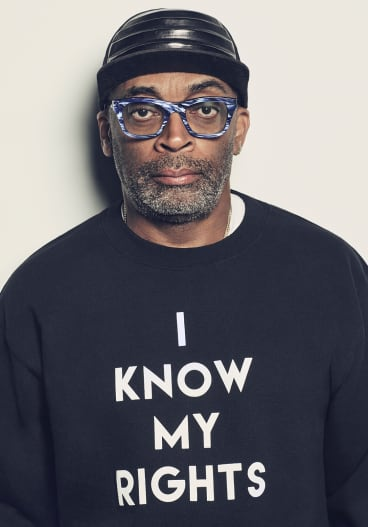 "Spike Lee calls BlacKkKlansman ""a wake-up call"" to the world."