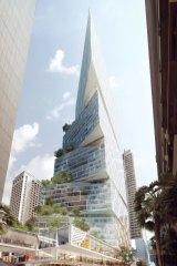 Denmark's 3XN has designed AMP's 50 Bridge Street tower for Quay Quarter.