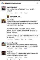 UQ LNP Club president: 'I openly accept I would be a Nazi