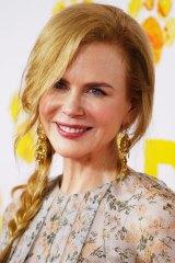 Sponsored acting prizes ... Nicole Kidman.