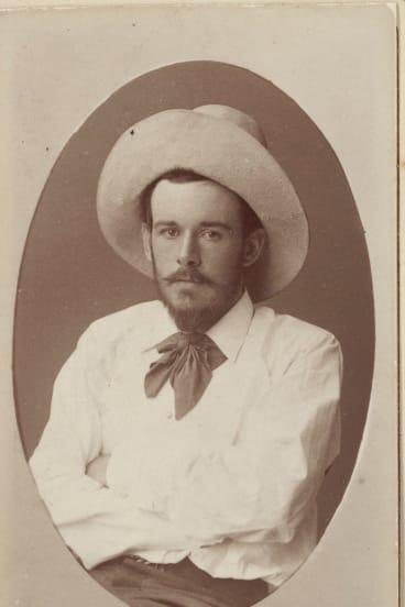 John Russell, carte de visite, photographed by J Barcroft Capel Boake, Sydney, c1883.